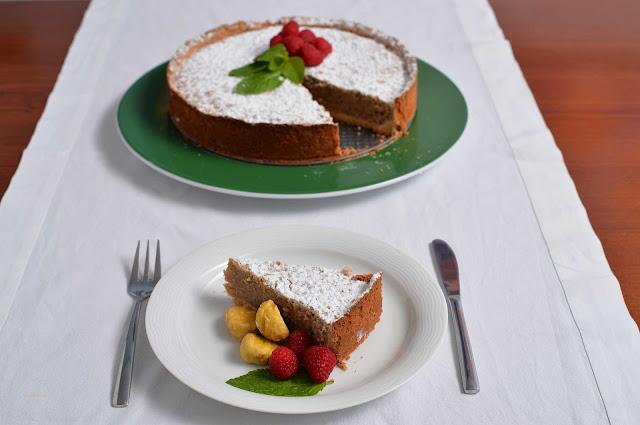 chestnut cake recipe pastel de castañas receta autumn fall otoño
