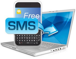 sms via PC komputer to mobile