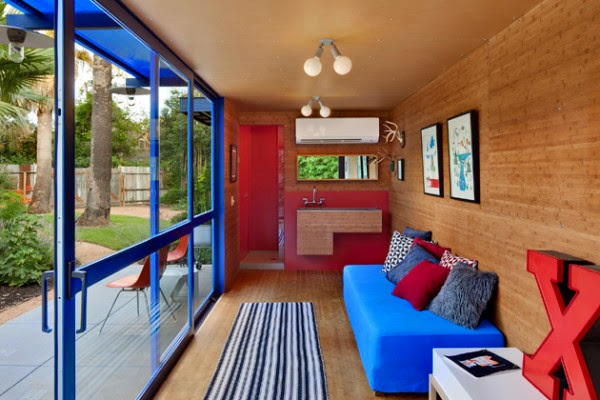 shipping container/alternative house/interior/home