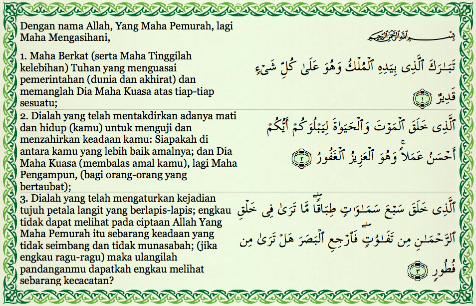 Al quran terjemahan indonesia online dating 4