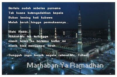 Kata Kata Mutiara Di Bulan Suci Ramadhan 2016