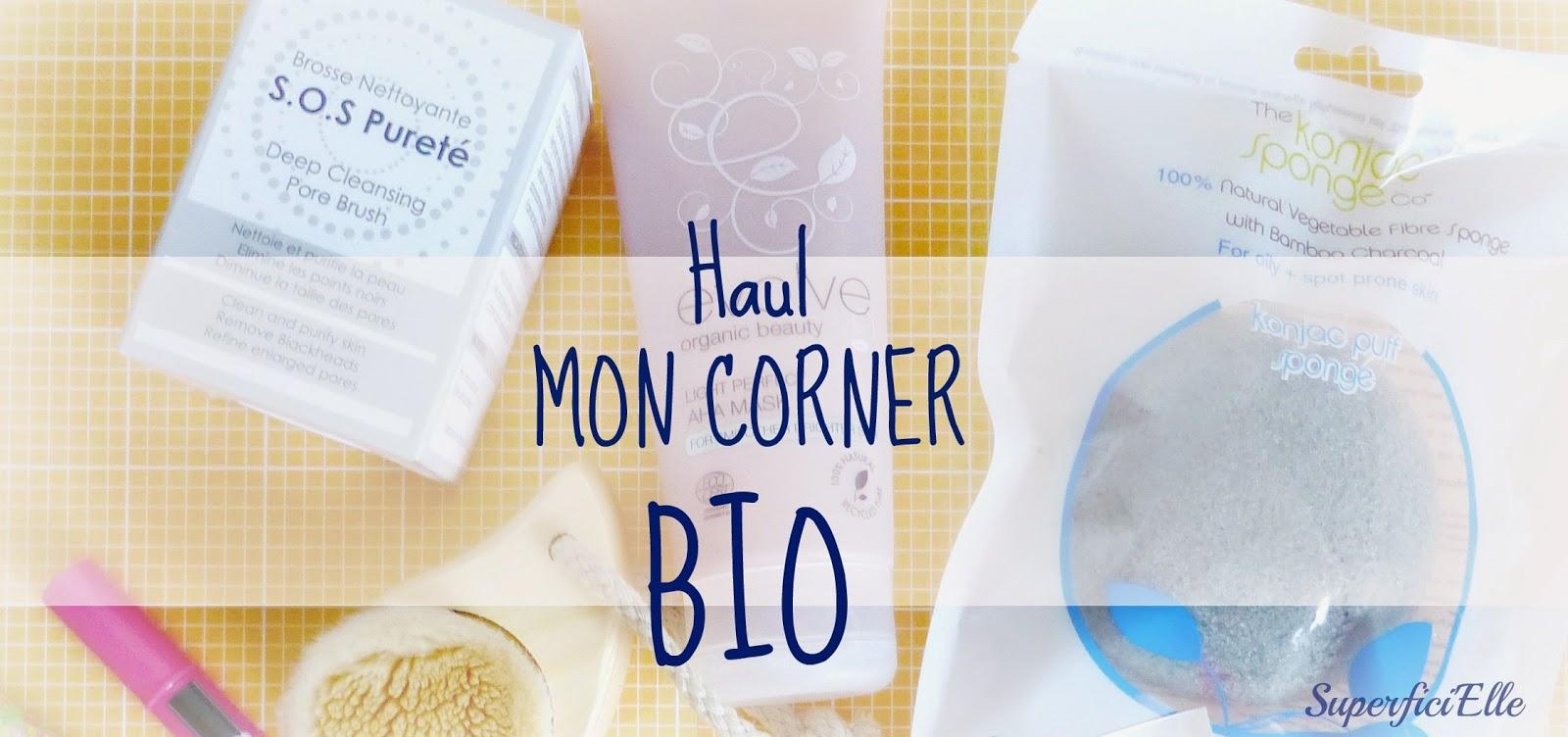 Haul Mon Corner Bio - Nettoyer et illuminer