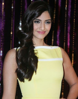 Sonam Kapoor Hot In Yellow Dress Pictures