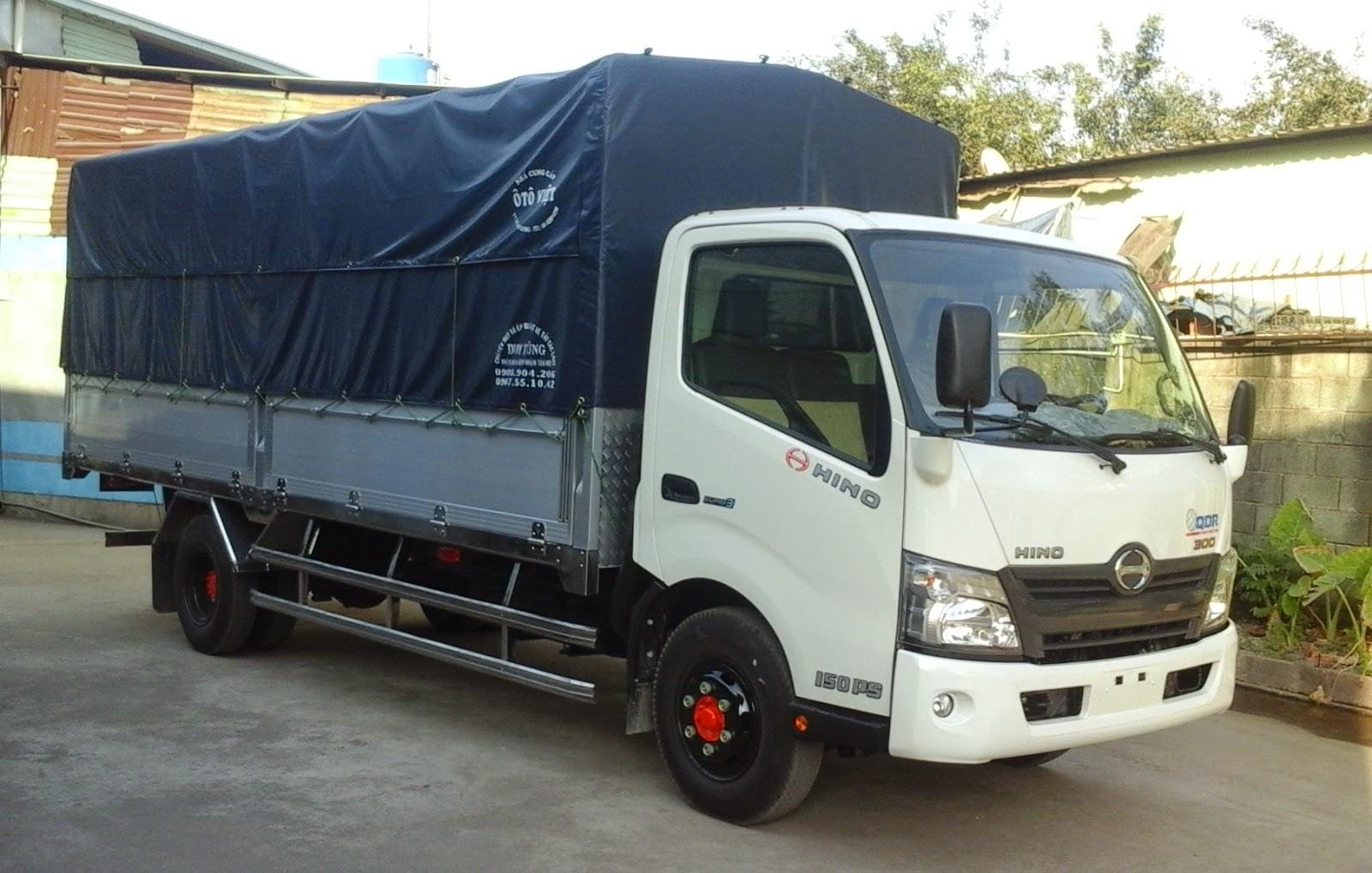 Công ty chuyên bán xe tải hino 5 tấn - Đại lý bán xe tải hino 5 tấn - Cửa hàng bán xe tải hino 5 tấn