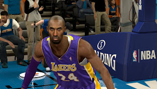 NBA 2K13 Kobe Bryant Cyber Face Patches