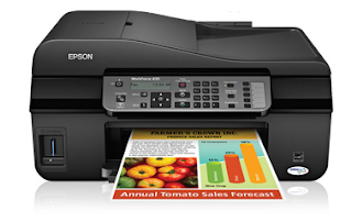 Epson WorkForce 435 Driver Download For Windows 10 And Mac OS X