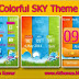 Colorful SKY Theme For Nokia 202,300,303,x3-02,c2-02,c2-03,c2-06,c3-01 Touch and Type Devices