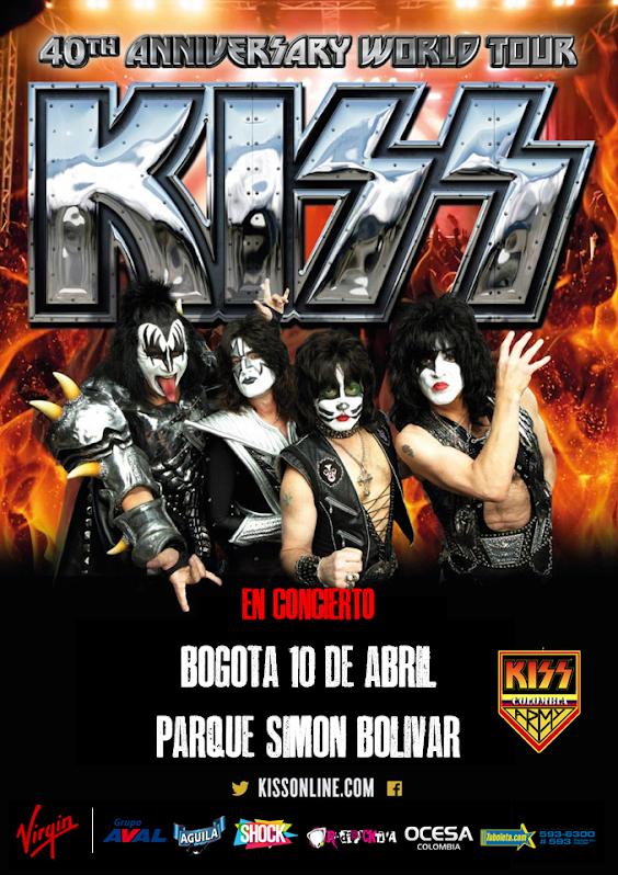 KISS EN CONCIERTO !