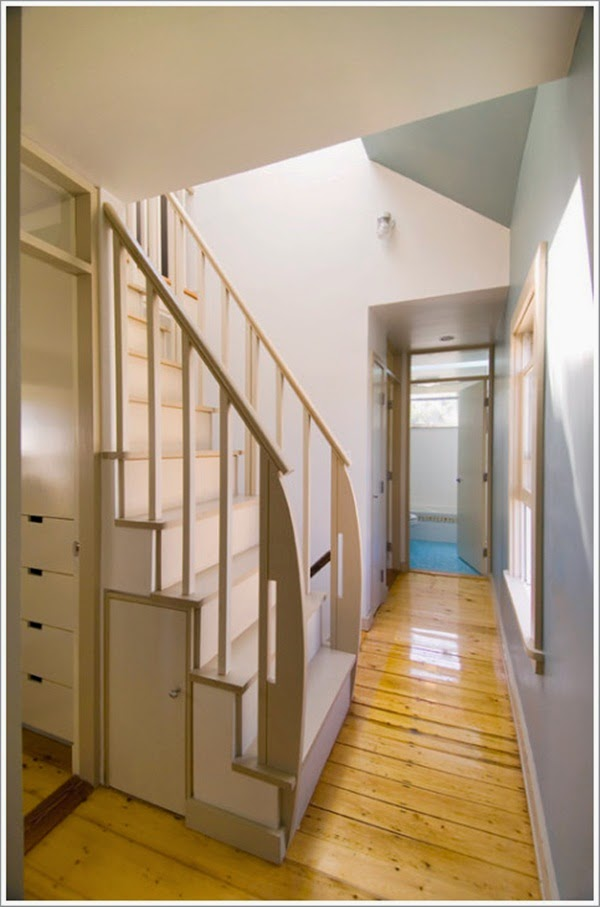 gambar desain tangga rumah minimalis