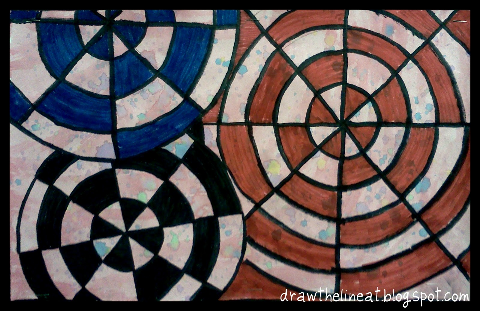 Displaying 20> Images For - Easy Op Art For Kids... Easy Designs To Draw For Kids