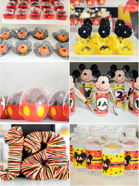 Fabulous Mickey Mouse Birthday Food Ideas for Parties 580 x 773 · 1152 kB · png
