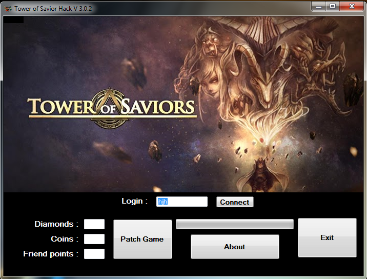 Instruction use Tower of Saviors HACK :