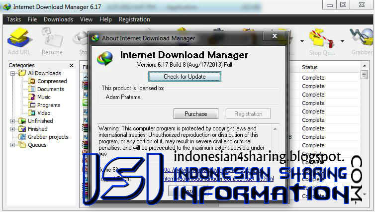 Download IDM Terbaru 6.17 Build 8 Full Patch