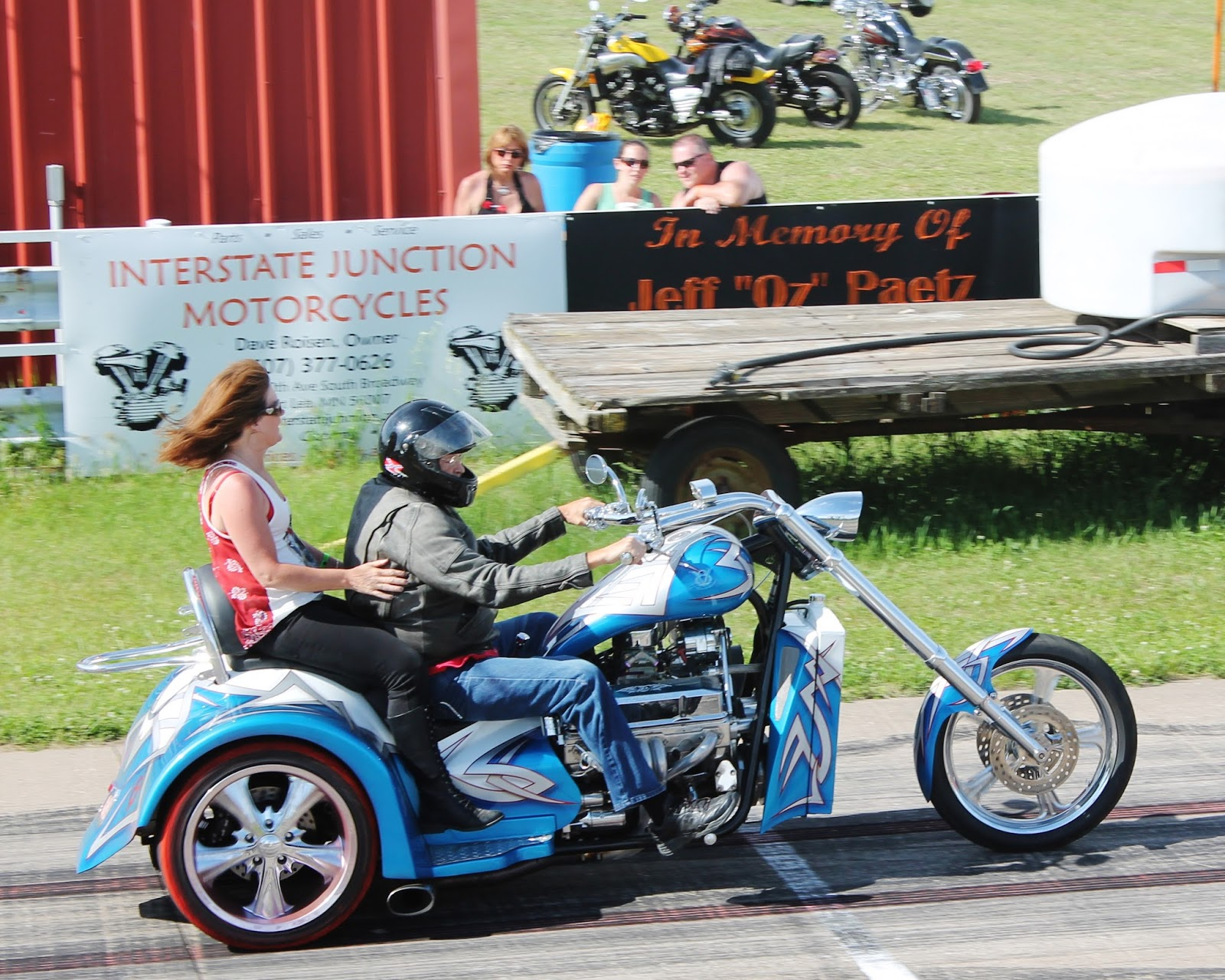 Lowrider In The Wind Conesville Redneck Revival Memorial Day 2015