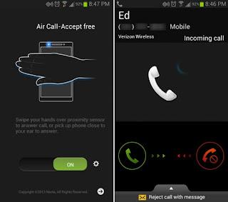 Aplikasi Air Gesture Untuk Android