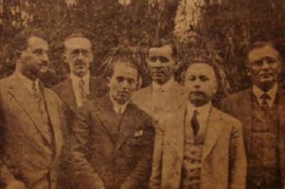 El equipo de Checoslovaquia en la III Olimpiada de Ajedrez de 1930