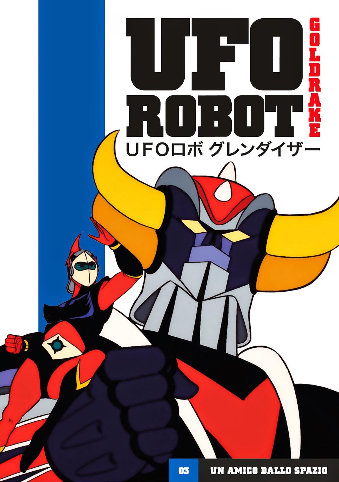 COVER Ufo Robot GOLDRAKE Gazzetta 3