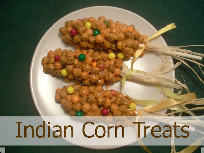 How to make Indian Corn Treats
