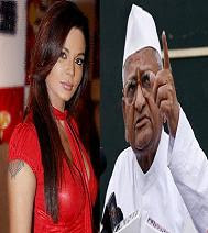 Rakhi Sawant calls Anna Hazare the 'Ram of Kalyug'