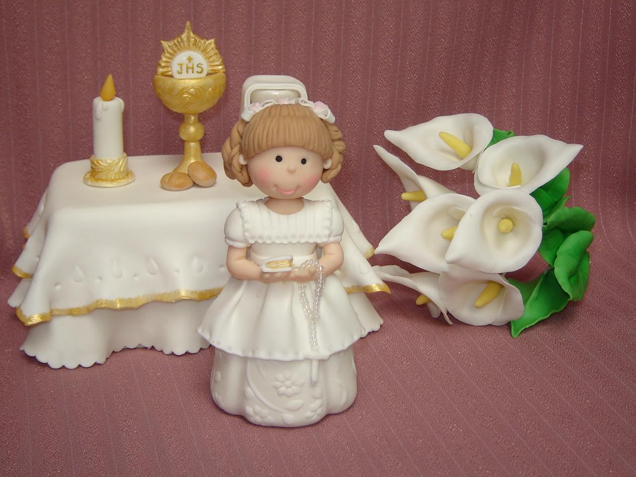 Tiendita de maravillas arte para todos en porcelana - Manualidades para comunion ...