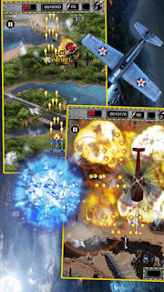 Screenshots of the Raiden war 2015 for Android tablet, phone.