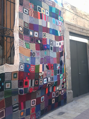 Yarn Bombing en Zaragoza