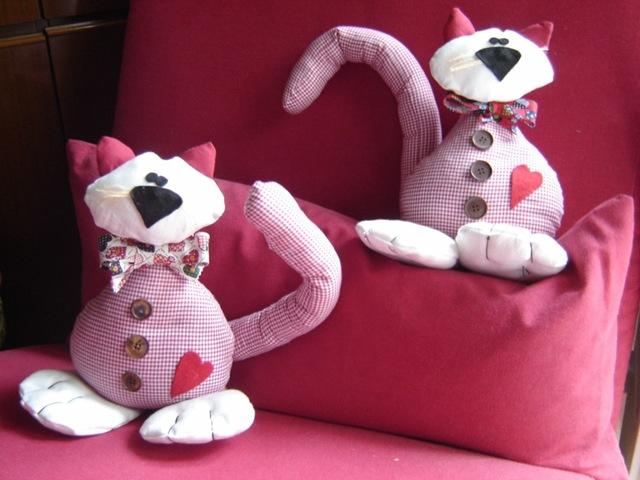 Il salotto creativo cartamodello gatto fermaporta for Fermaporta cartamodello