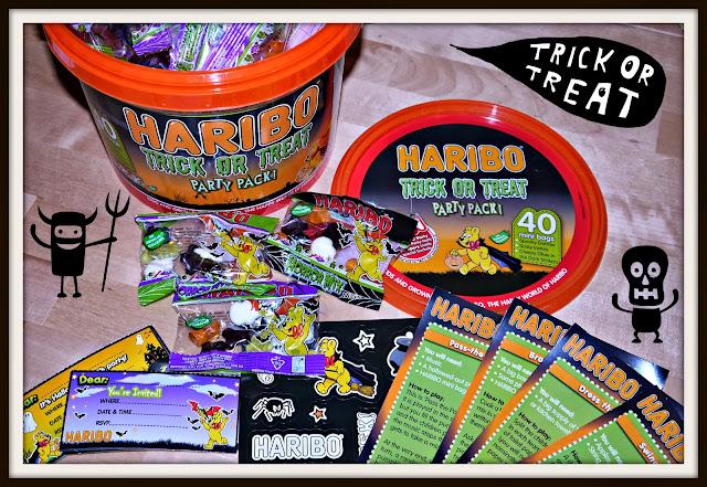 HARIBO, sweets, Halloween
