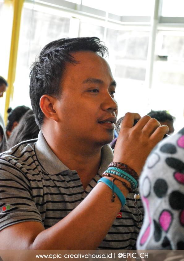 Sesi tanya jawab KOPI SUSU Warung Blogger