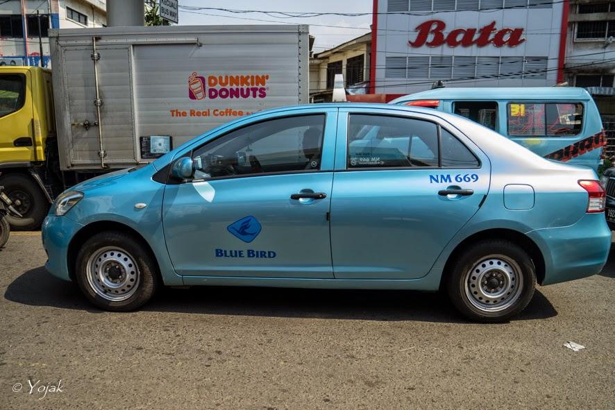taxi blue bird Jakarta