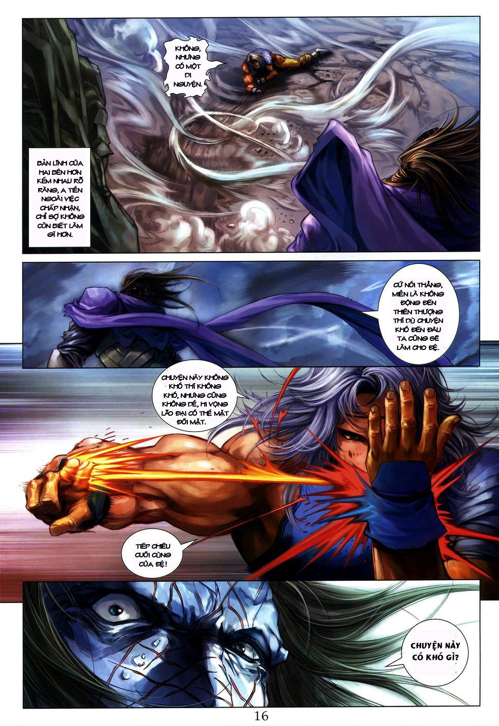 Tứ Đại Danh Bổ chap 222 Trang 16