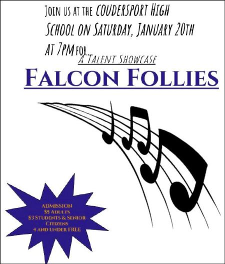 1-20 Falcon Follies, Coudersport High School