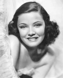 Vintage black and white photo of actress Maureen O'Sullivan.