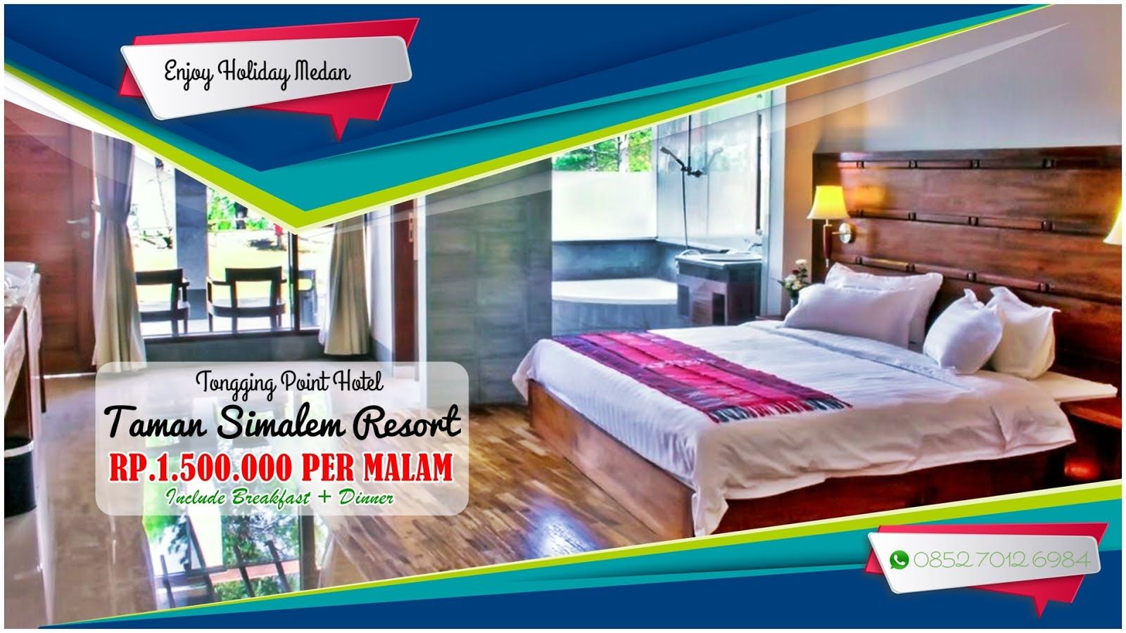 Promo Tongging Point Hotel Taman Simalem Resort