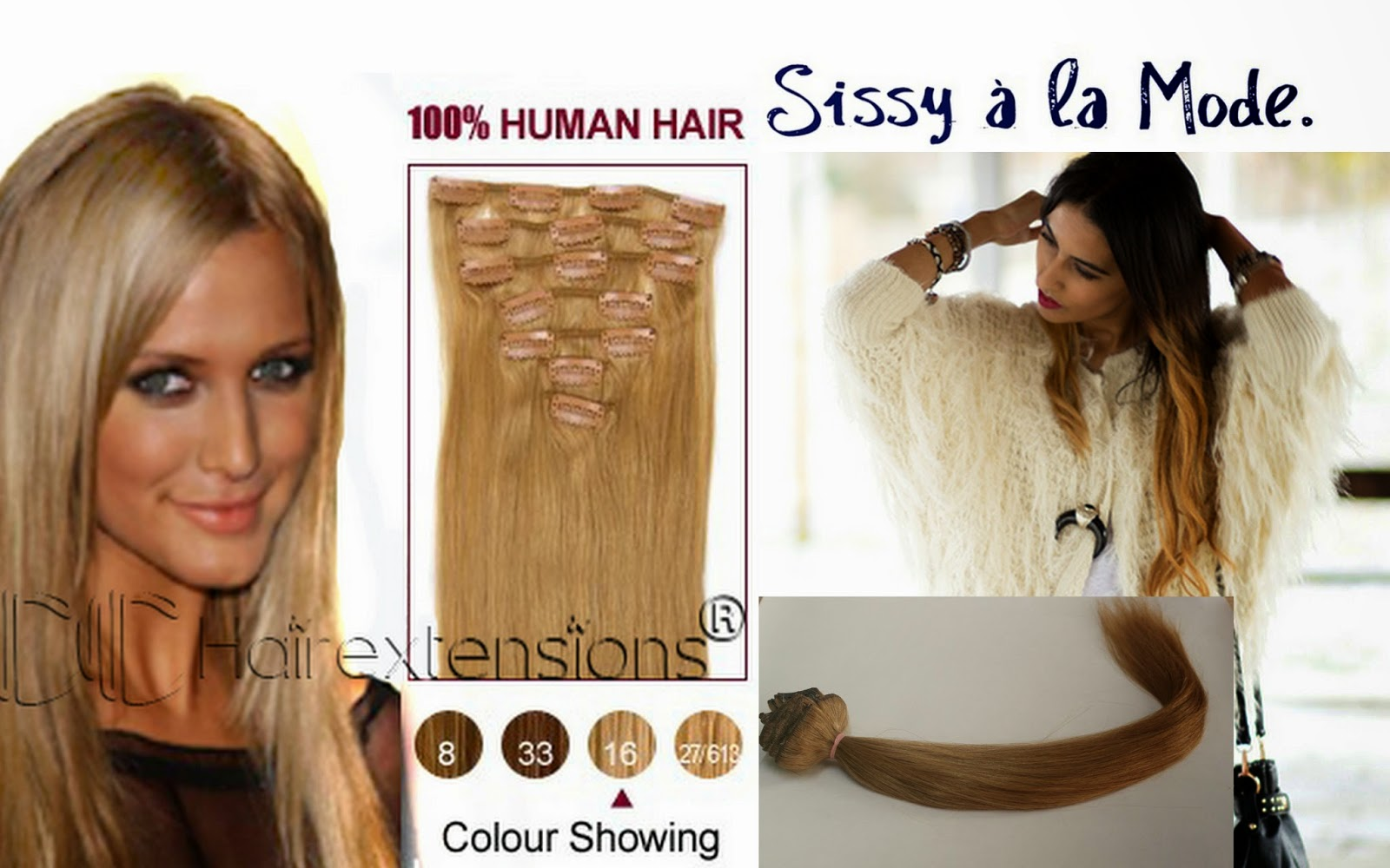 Sissy La Mode Cc Real Hair Extensions