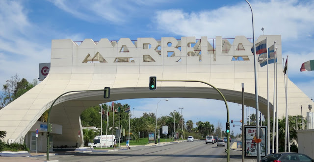 Marbella Sign Spain Holiday Summer Sun