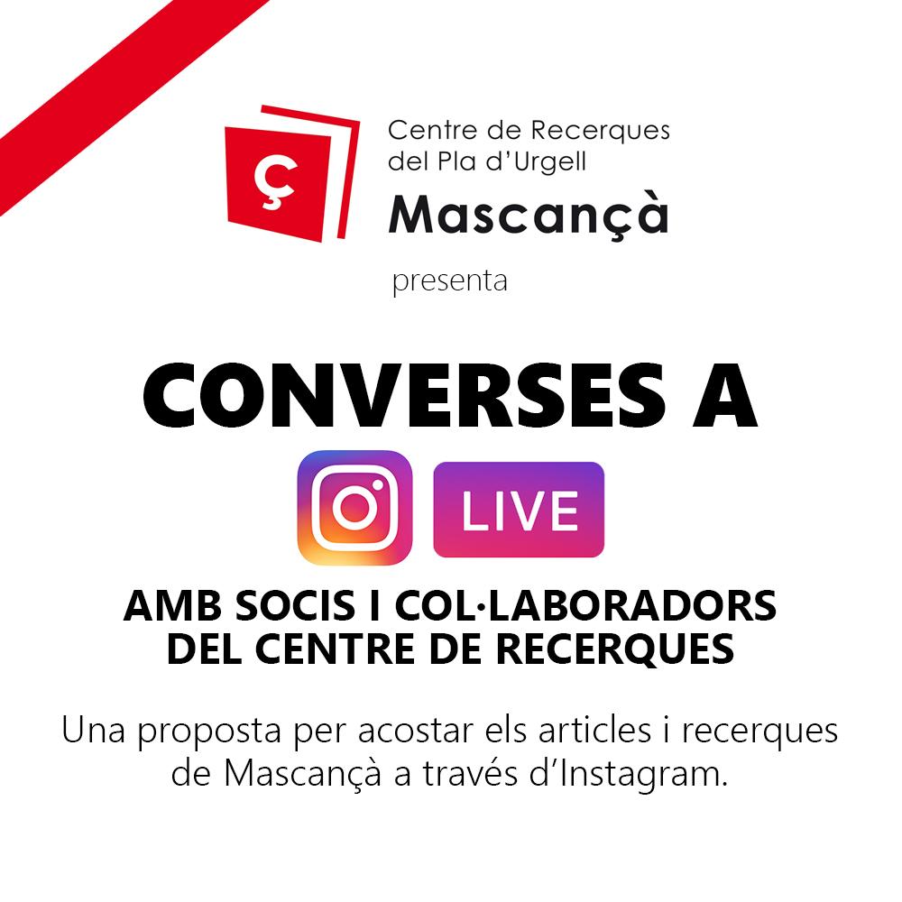 Recupera les converses de Mascançà a YouTube