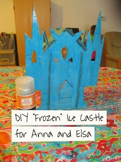 Disney Frozen Anna Elsa Dollhouse Castle DIY Tutorial