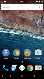 Download android M launcher