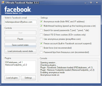 Ultimate Facebook Hacker v3.5.1 Free Download | Computer Hacking Tools