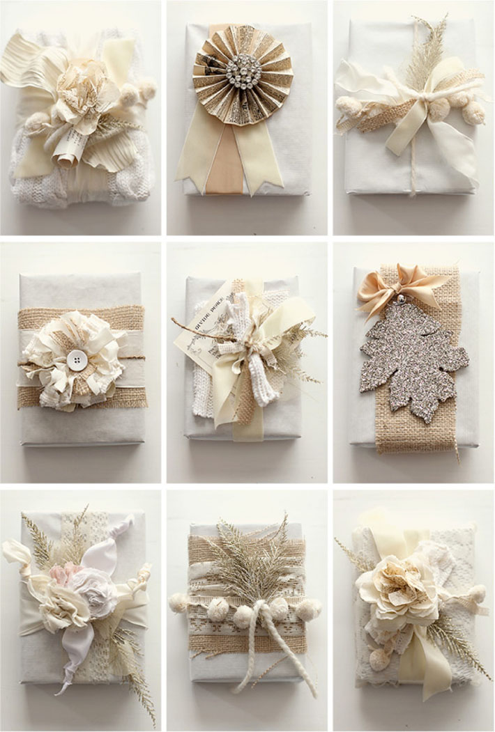 Beauty and the green its a wrap chic eco friendly gift Gift wrapping ideas