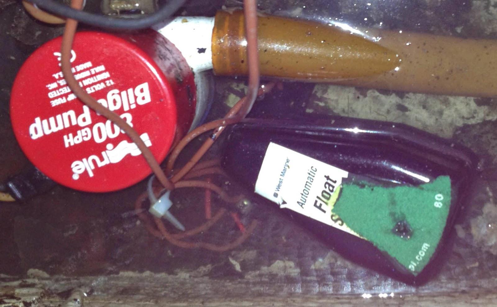 fixing a bilge pump switch