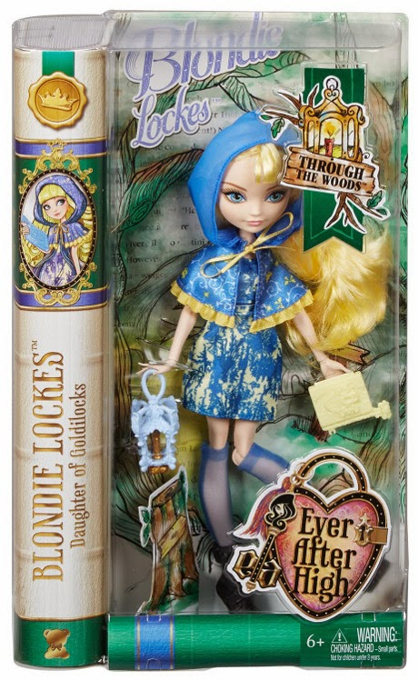 JUGUETES - EVER AFTER HIGH   Through The Woods - Blondie Lockes | Muñeca  Producto Oficial | Mattel | A partir de 6 años