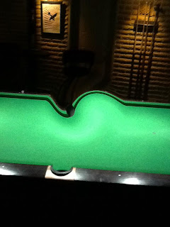 Pool Tables Bend After Drinks