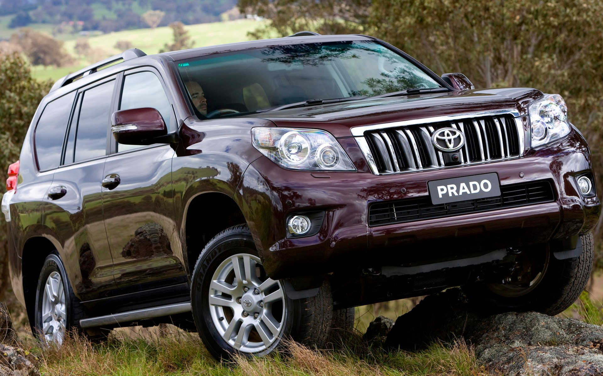 Land Cruiser Prado Widescreen HD Wallpaper