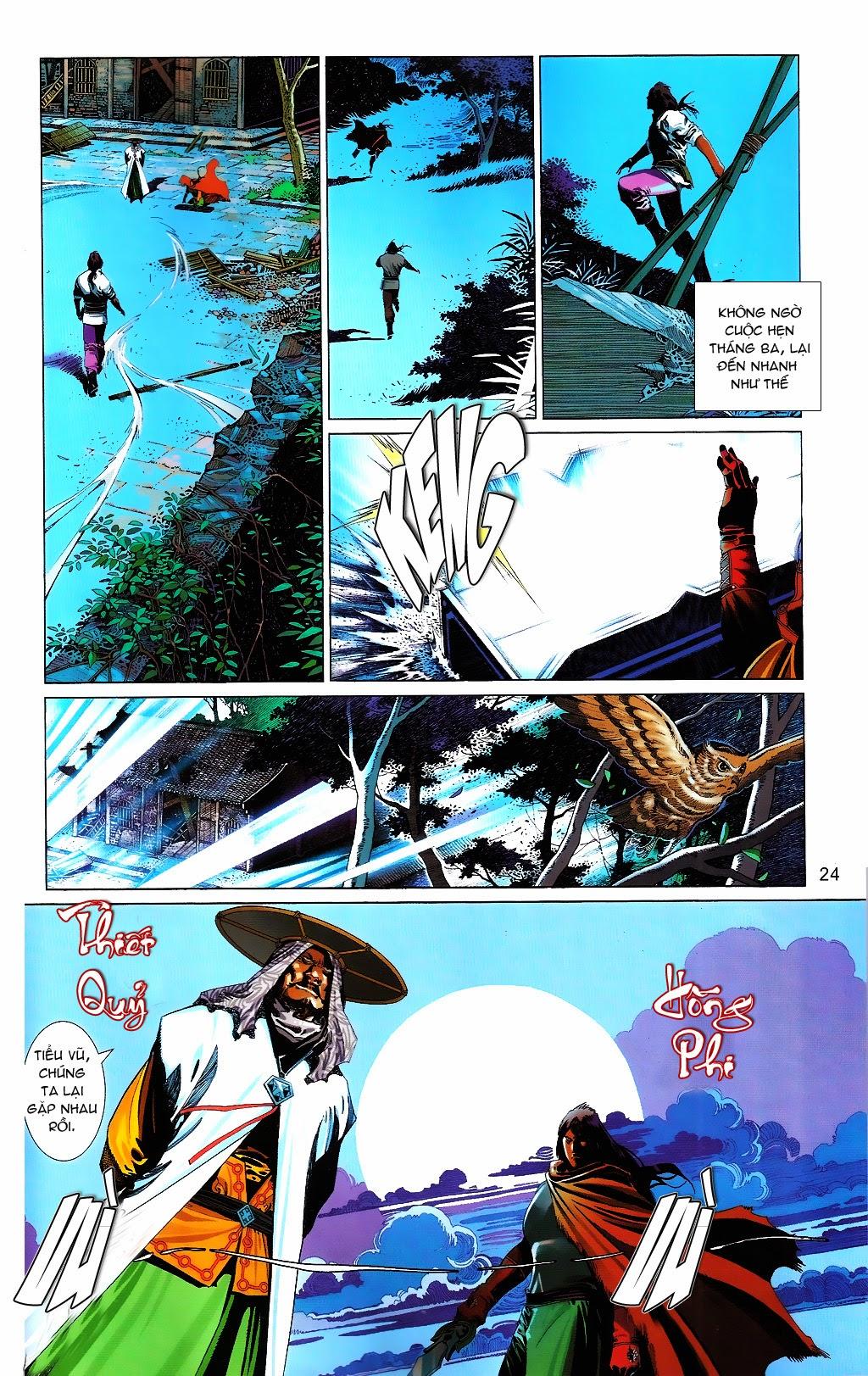 Phong Vân chap 664 Trang 24 - Mangak.info