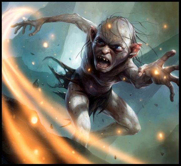 mike lim daarken ilustrações fantasia medieval violência batalhas monstros arte conceitual video games Gollum