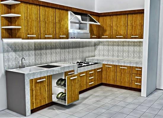 contoh 7 gambar ide desain dapur minimalis terbaik 2015