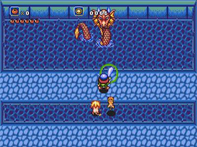Leviathan, un boss de Soleil sur Megadrive