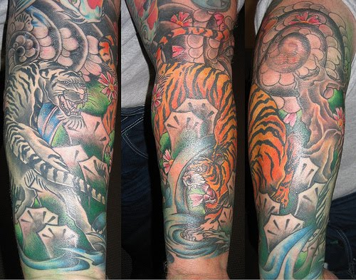briefs-of-life: Forearm Sleeve Tattoo